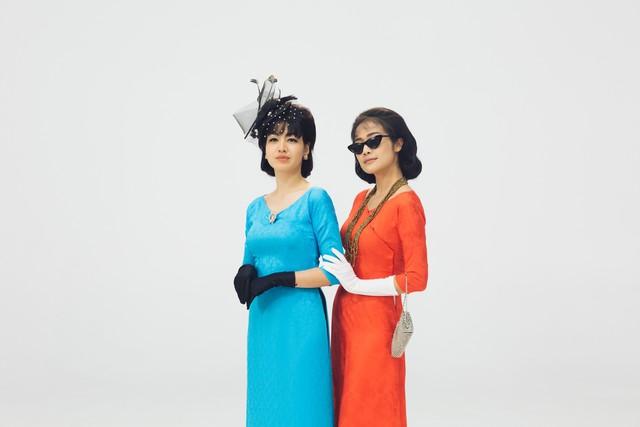 MC Phí Linh, Hồng Nhung diện các mẫu áo dài trong 100 năm qua - Ảnh 20.