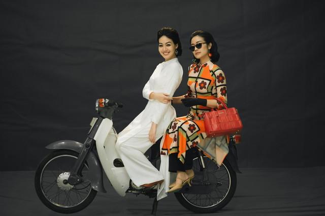 MC Phí Linh, Hồng Nhung diện các mẫu áo dài trong 100 năm qua - Ảnh 29.