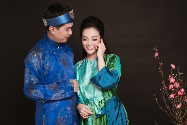 Tân Nhàn mời chồng làm liền anh trong MV hát quan họ Tương phùng tương ngộ - Ảnh 1.