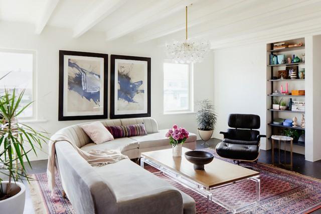 Nội thất dành cho chủ nhà yêu thích sự sắc nét và trật tự - Ảnh 2.