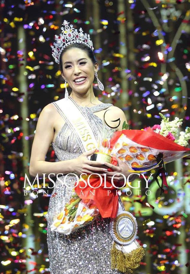 Tân Hoa hậu Toàn cầu 2019 bị chê kém sắc - Ảnh 1.
