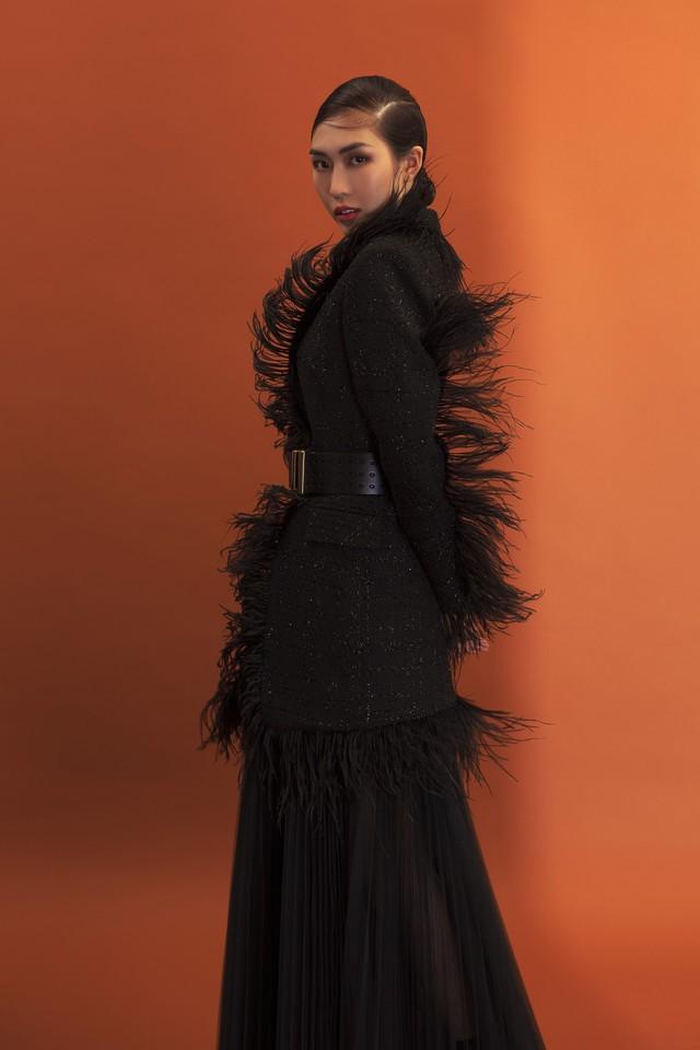 Hoa hậu Tường Linh lột xác trong bộ hình mới - Ảnh 9.