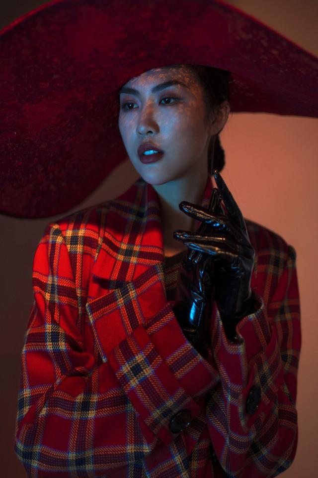 Hoa hậu Tường Linh lột xác trong bộ hình mới - Ảnh 3.