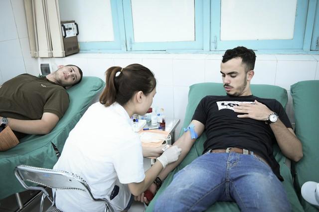 Đại sứ Palestine tại Việt Nam tham gia hiến máu cứu người - Ảnh 3.