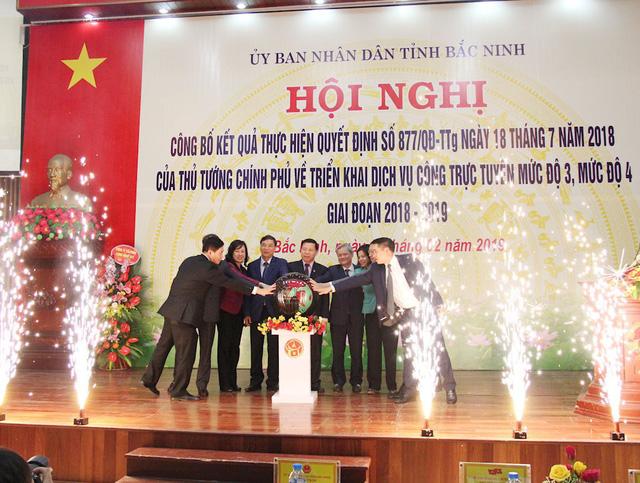 Bắc Ninh cung cấp 819 dịch vụ công trực tuyến mức 3, 4 - Ảnh 1.