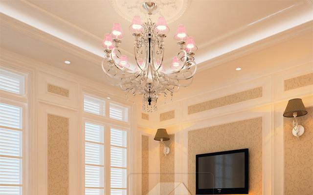 Cách chọn 4 loại đèn trang trí cho phòng khách ấn tượng - Ảnh 1.