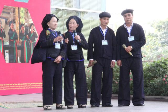 Nghinh xuân đón Tết Bắc Giang tại Bảo tàng dân tộc học - Ảnh 4.