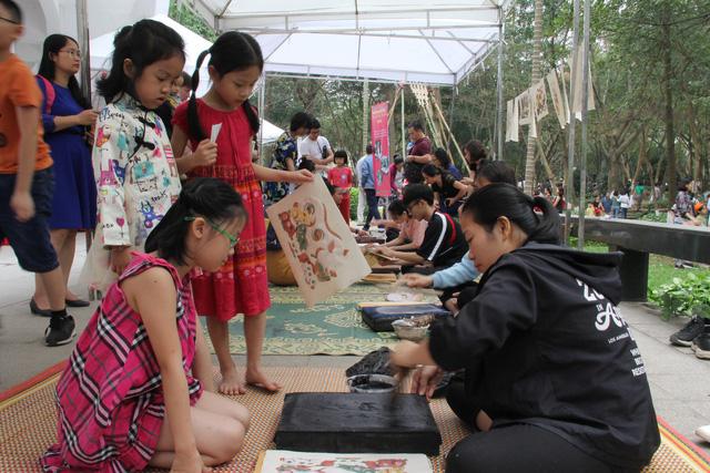 Nghinh xuân đón Tết Bắc Giang tại Bảo tàng dân tộc học - Ảnh 6.