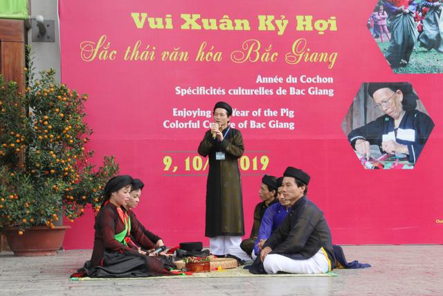 Nghinh xuân đón Tết Bắc Giang tại Bảo tàng dân tộc học - Ảnh 3.