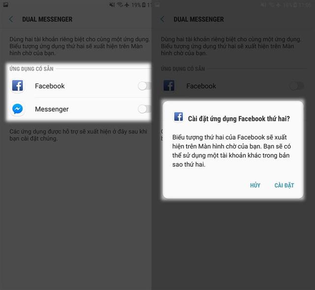 Bật mí thủ thuật dùng 2 tài khoản Facebook cùng một lúc trên điện thoại Samsung - Ảnh 3.