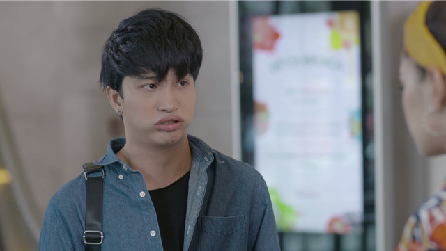 Những biểu cảm khó đỡ của B Trần trong phim Mối tình đầu của tôi - Ảnh 5.