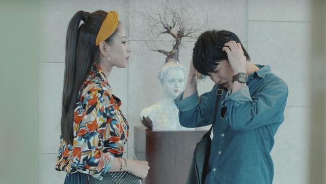 Những biểu cảm khó đỡ của B Trần trong phim Mối tình đầu của tôi - Ảnh 7.