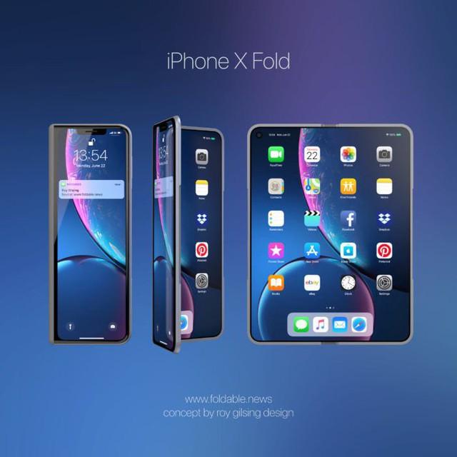 Sợ hết phần, Apple sẽ sớm trình làng iPhone màn hình gập - Ảnh 1.