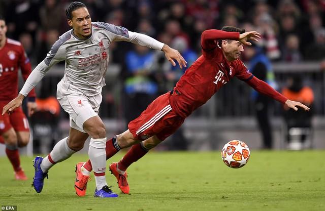Thắng cách biệt Bayern Munich, Liverpool giành quyền vào tứ kết Champions League - Ảnh 1.