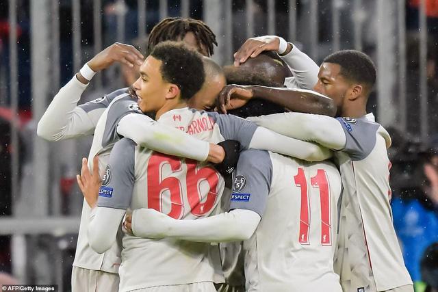 Thắng cách biệt Bayern Munich, Liverpool giành quyền vào tứ kết Champions League - Ảnh 3.