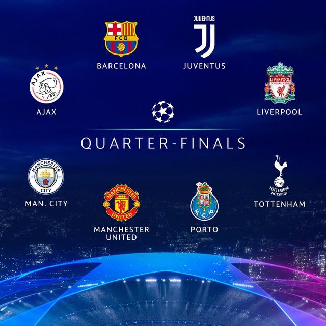18h00 hôm nay (15/3), bốc thăm tứ kết Champions League và Europa League - Ảnh 1.