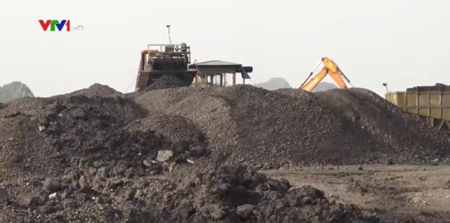 Khai thác hàng trăm tấn xít than trái phép tại Quảng Ninh - Ảnh 1.