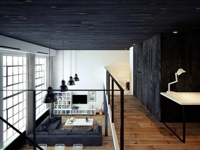 Bí kíp phối màu đen làm không gian căn nhà tươi sáng - Ảnh 3.