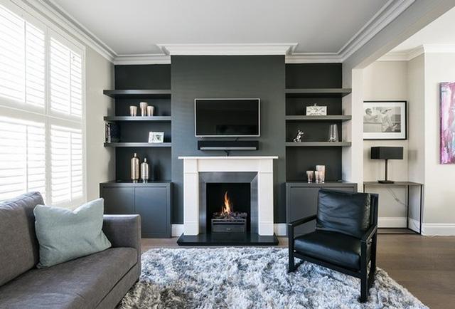 Bí kíp phối màu đen làm không gian căn nhà tươi sáng - Ảnh 4.