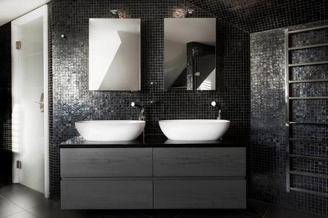 Bí kíp phối màu đen làm không gian căn nhà tươi sáng - Ảnh 8.
