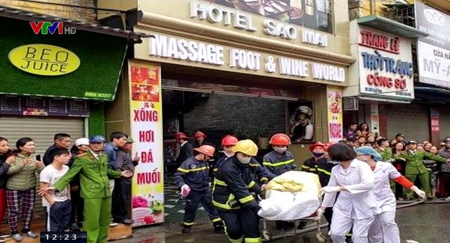 Cháy lớn khách sạn ở Hải Phòng, 1 người thiệt mạng - ảnh 1
