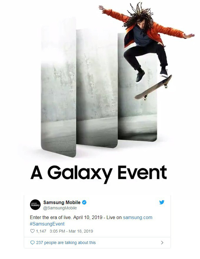 Hàng loạt mẫu smartphone Samsung A-series sắp đổ bộ vào ngày 10/4 - Ảnh 1.