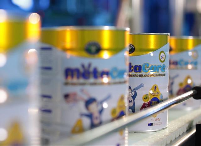 Cận cảnh quy trình sản xuất sữa Metacare đạt chuẩn quốc tế - Ảnh 1.