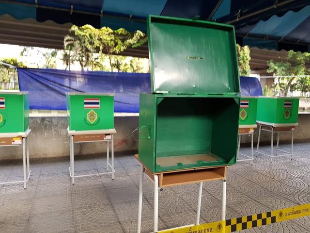 Ảnh: Người dân Thái Lan xếp hàng đi bỏ phiếu bầu Tổng tuyển cử 2019 - Ảnh 1.