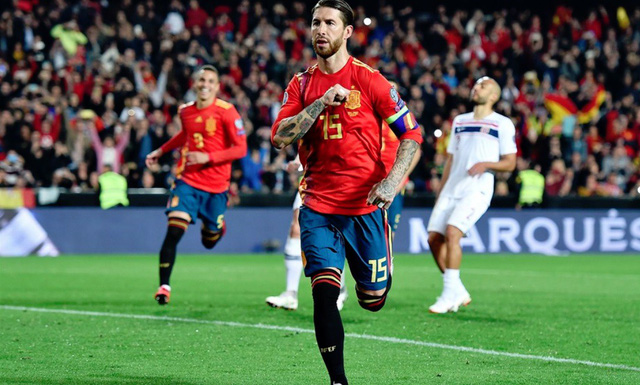 Kết quả bóng đá vòng loại EURO 2020 sáng 24/3: Italia và Tây Ban Nha khởi đầu thuận lợi - Ảnh 5.