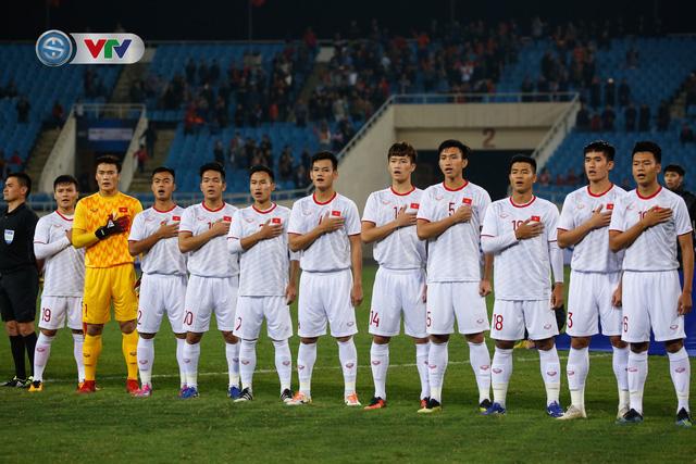 ẢNH: Ghi bàn ở phút bù giờ, U23 Việt Nam giành chiến thắng nghẹt thở trước U23 Indonesia - Ảnh 1.