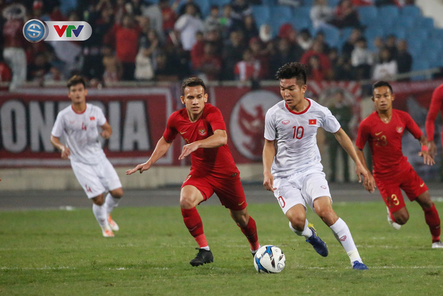 ẢNH: Ghi bàn ở phút bù giờ, U23 Việt Nam giành chiến thắng nghẹt thở trước U23 Indonesia - Ảnh 4.