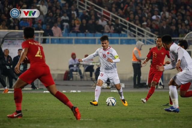 ẢNH: Ghi bàn ở phút bù giờ, U23 Việt Nam giành chiến thắng nghẹt thở trước U23 Indonesia - Ảnh 3.