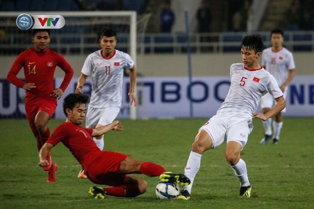 ẢNH: Ghi bàn ở phút bù giờ, U23 Việt Nam giành chiến thắng nghẹt thở trước U23 Indonesia - Ảnh 7.