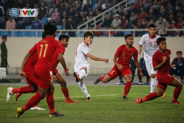 ẢNH: Ghi bàn ở phút bù giờ, U23 Việt Nam giành chiến thắng nghẹt thở trước U23 Indonesia - Ảnh 13.