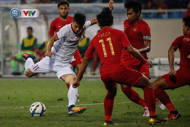 ẢNH: Ghi bàn ở phút bù giờ, U23 Việt Nam giành chiến thắng nghẹt thở trước U23 Indonesia - Ảnh 11.