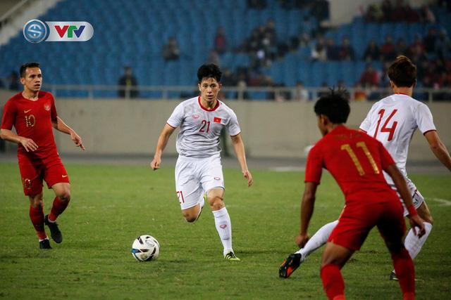 ẢNH: Ghi bàn ở phút bù giờ, U23 Việt Nam giành chiến thắng nghẹt thở trước U23 Indonesia - Ảnh 17.