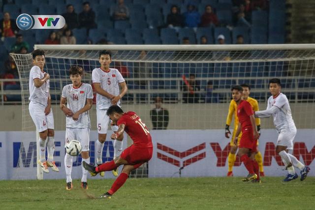 ẢNH: Ghi bàn ở phút bù giờ, U23 Việt Nam giành chiến thắng nghẹt thở trước U23 Indonesia - Ảnh 15.