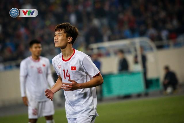 ẢNH: Ghi bàn ở phút bù giờ, U23 Việt Nam giành chiến thắng nghẹt thở trước U23 Indonesia - Ảnh 14.