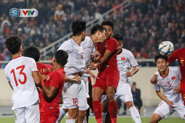 ẢNH: Ghi bàn ở phút bù giờ, U23 Việt Nam giành chiến thắng nghẹt thở trước U23 Indonesia - Ảnh 18.