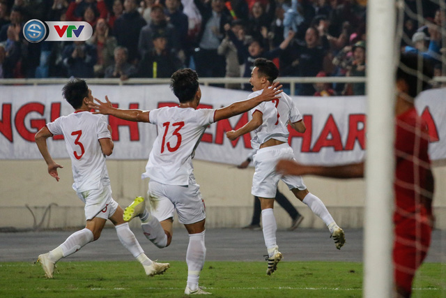 ẢNH: Ghi bàn ở phút bù giờ, U23 Việt Nam giành chiến thắng nghẹt thở trước U23 Indonesia - Ảnh 19.