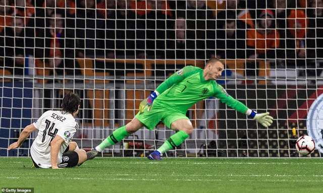 Kết quả bóng đá vòng loại EURO 2020 sáng 25/3: ĐT Đức thắng kịch tính ĐT Hà Lan, ĐT Croatia bất ngờ bại trận - Ảnh 8.