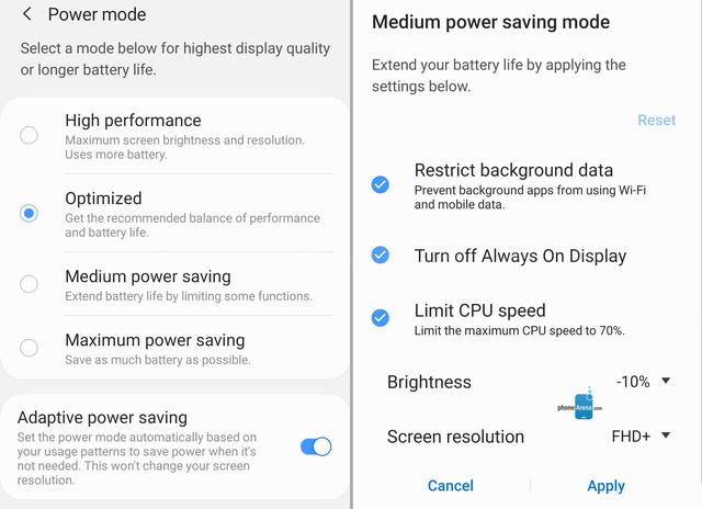 Làm thế nào để cải thiện thời lượng pin trên Galaxy S10? - Ảnh 1.