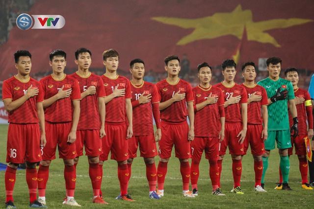 ẢNH: Đại thắng U23 Thái Lan, U23 Việt Nam giành vé tham dự VCK U23 châu Á 2020 - Ảnh 1.