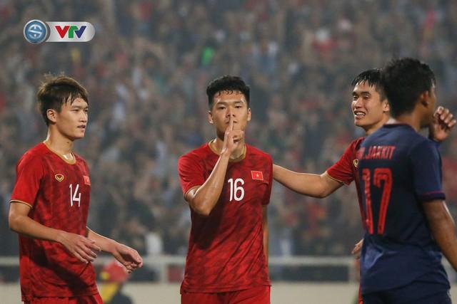 ẢNH: Đại thắng U23 Thái Lan, U23 Việt Nam giành vé tham dự VCK U23 châu Á 2020 - Ảnh 13.
