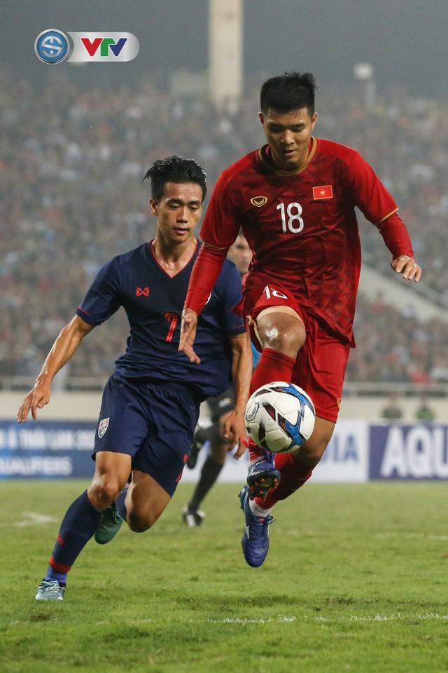 ẢNH: Đại thắng U23 Thái Lan, U23 Việt Nam giành vé tham dự VCK U23 châu Á 2020 - Ảnh 16.