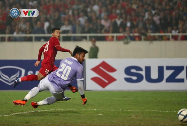 ẢNH: Đại thắng U23 Thái Lan, U23 Việt Nam giành vé tham dự VCK U23 châu Á 2020 - Ảnh 6.