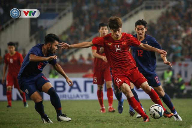ẢNH: Đại thắng U23 Thái Lan, U23 Việt Nam giành vé tham dự VCK U23 châu Á 2020 - Ảnh 7.