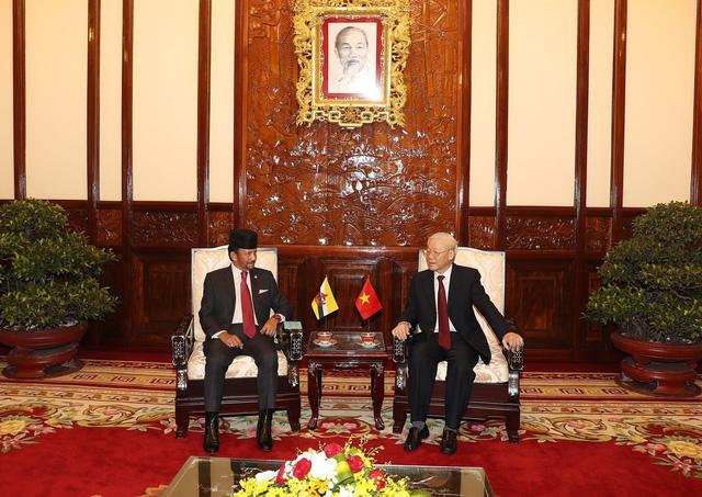 Đưa quan hệ Việt Nam - Brunei lên tầm đối tác toàn diện - Ảnh 1.