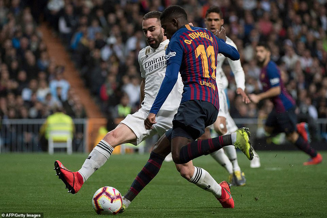 Siêu kinh điển: Barcelona thắng tối thiểu Real Madrid tại Bernabeu - Ảnh 6.