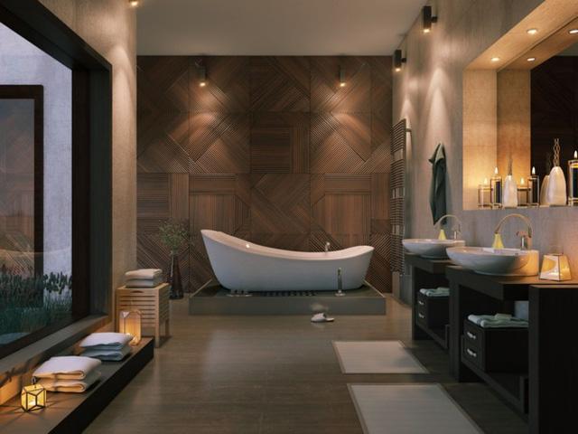Mẫu thiết kế phòng tắm mở khiến bạn mê mẩn - Ảnh 11.